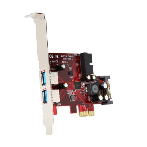 2 Port PCIe USB 3.0 Controller Card