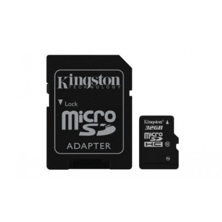Kingston 32GB microSDHC Class 10 Flash Card