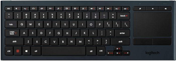Logitech Illuminated Living-Room Keyboard K830 (Special Order)