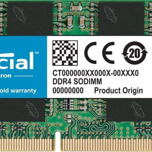 Crucial 16GB Single DDR4 2400mhz 260-Pin SODIMM Memory - Notebook