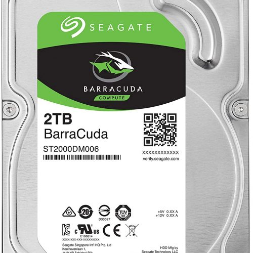 Seagate Barracuda Hard drive 3.5 2TB 7200RPM