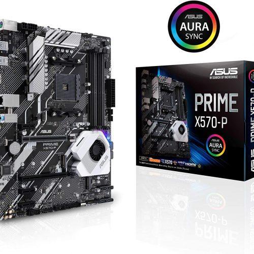 ASUS Prime X570-P - AMD Chipset - AM4 Socket - ATX Desktop motherboard