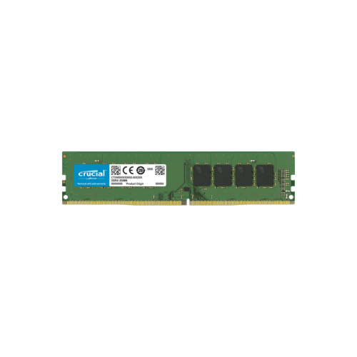 Crucial 4GB U-DIMM 1.2V DDR4 19200 2400MHZ