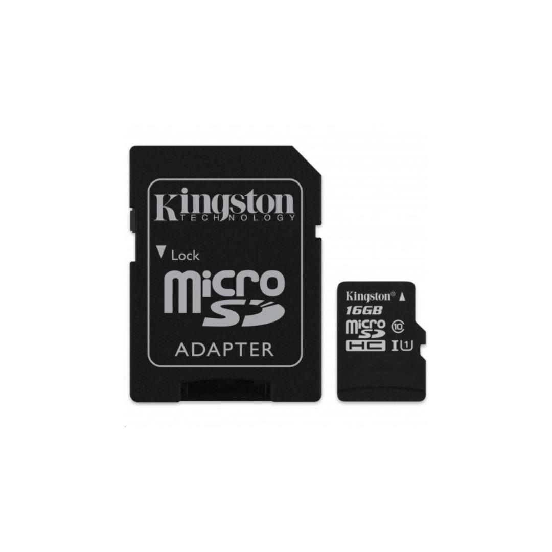 Kingston 16Gb Micro SD card class 10