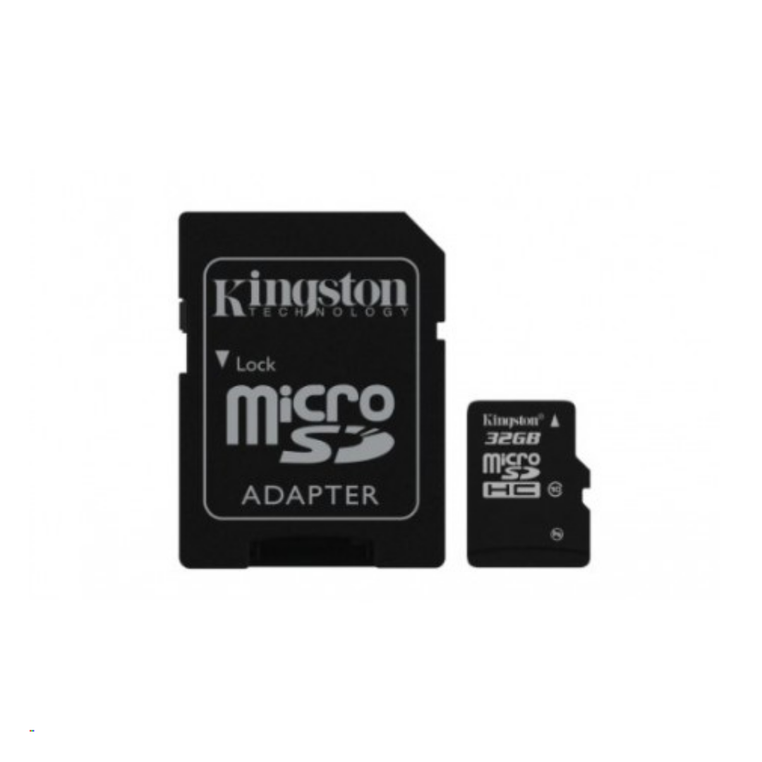 Kingston 32GB microSDHC Class 10 Flash Card