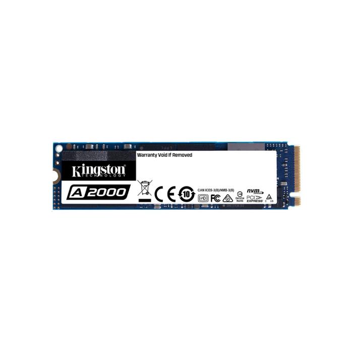 Kingston A2000 250 GB Solid State Drive - M.2 2280 NVMe Internal - PCI Express