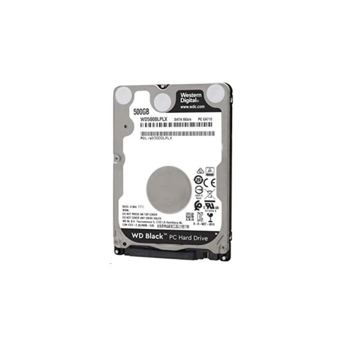 Western Digital Black Hard Drive 2.5 500GB 7200RPM
