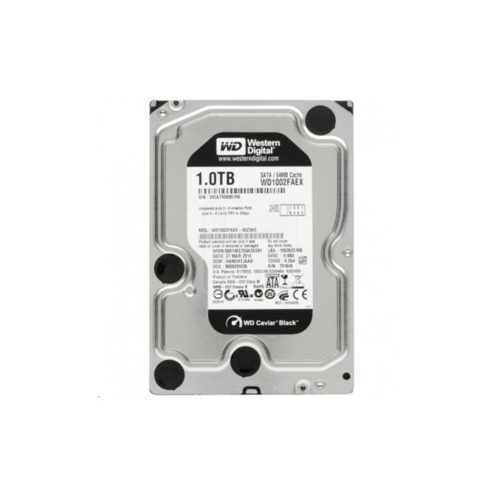 Western Digital Black Hard Drive 3.5 1TB 7200RPM