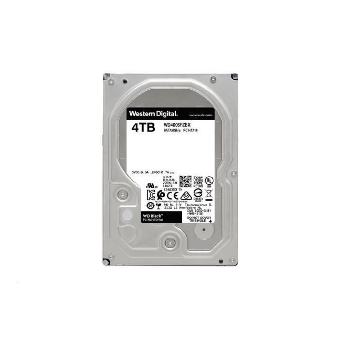 Western Digital Black Hard Drive 3.5 4TB 7200RPM