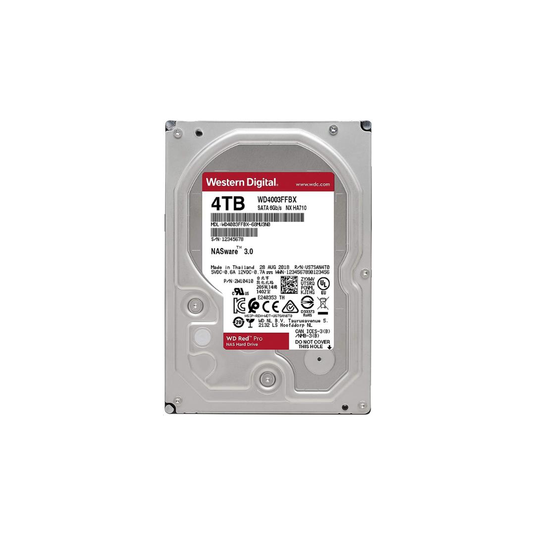 Western Digital Red Hard Drive 3.5 4TB 5400RPM