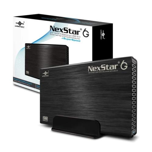 Vantec NST-310S3-BK 3.5inch SATA to USB 3.0 External Hard Drive Enclosure