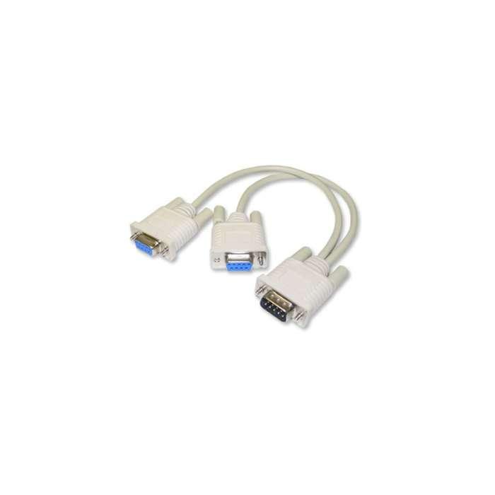 Serial Y Cable DA15M to DA15F