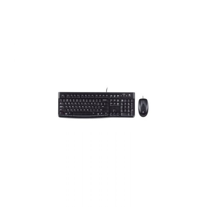 Logitech MK120 Wired Keyboard and Mouse