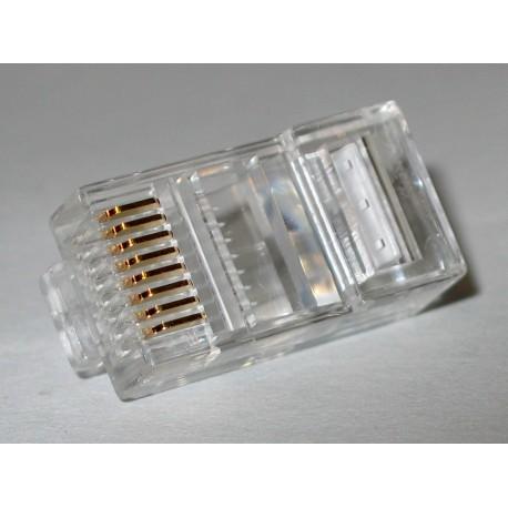 RJ45 8P8C Modular Plug ends for Cat6