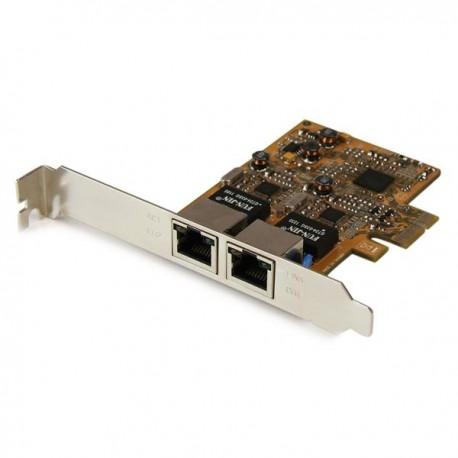 StarTech.com Dual Port Gigabit PCI Express Server Network Adapter Card - PCIe NIC