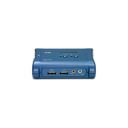 TRENDnet 2-Port USB KVM Switch Kit w/ Audio