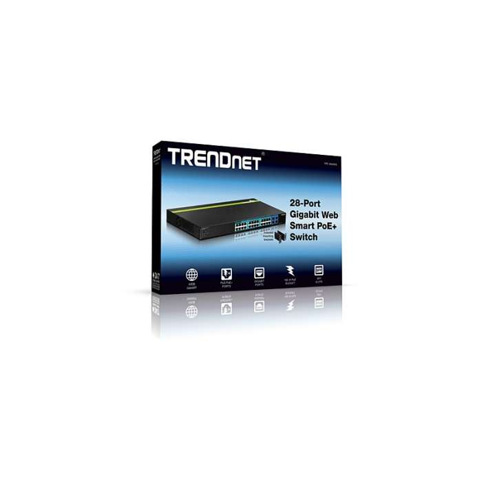 TRENDnet 28-Port Gigabit Web Smart PoE