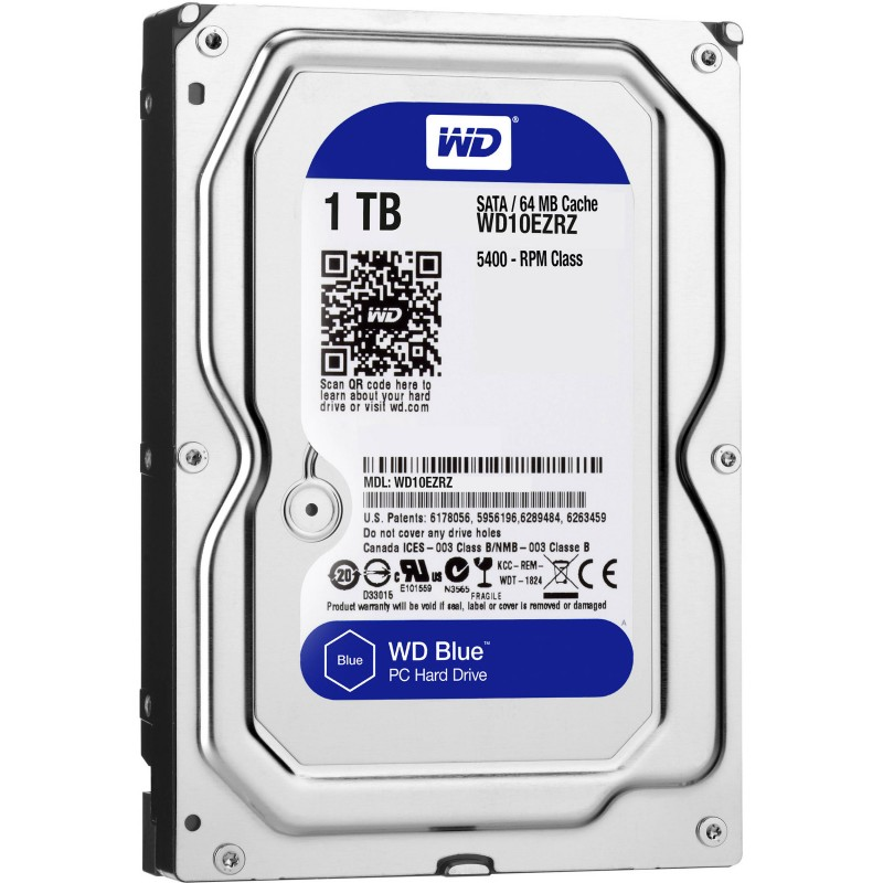 Western Digital Blue Hard Drive 3.5 1TB