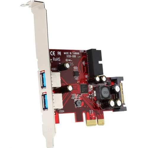 2 Port PCIe USB 3.0 Controller Card
