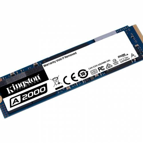 Kingston A2000 1TB M.2 NVMe PCIe Gen 3.0 x4 Internal Solid State Drive