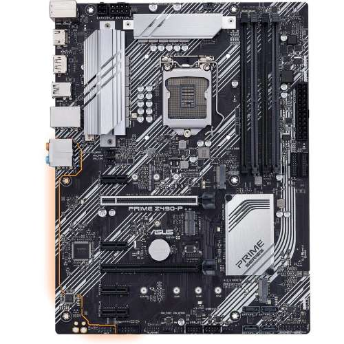 ASUS PRIME Z490-P LGA 1200 (Intel 10th Gen) Intel Z490 SATA 6Gb/s ATX Intel Motherboard