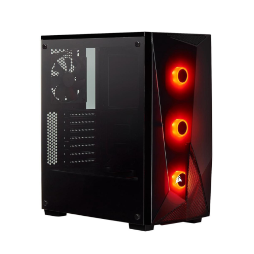 Corsair Carbide Series Spec-DELTA RGB Tempered Glass Mid-Tower ATX Gaming Case Black Case Tempered Glass