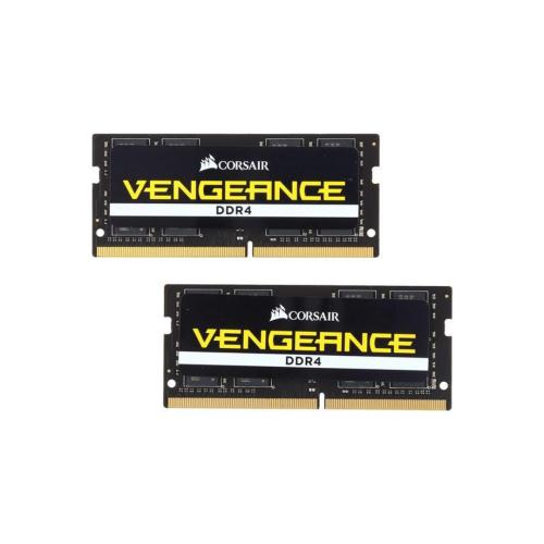 CORSAIR Vengeance 32GB RAM (2 x 16GB) 260-Pin DDR4 SO-DIMM DDR4 2666 (PC4 21300)