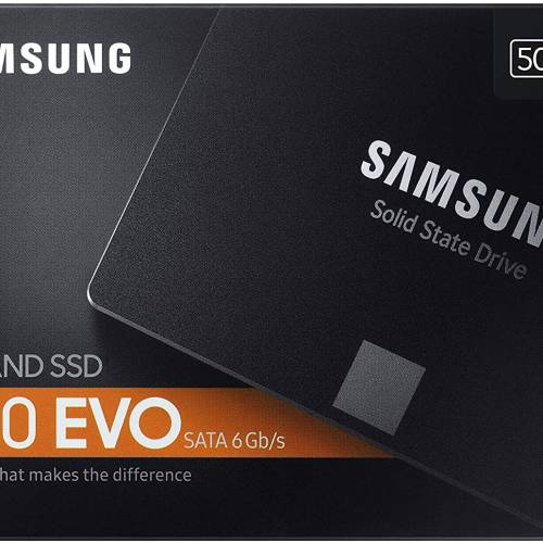 SAMSUNG 860 QVO 2.5in SATA III 500GB Internal SSD