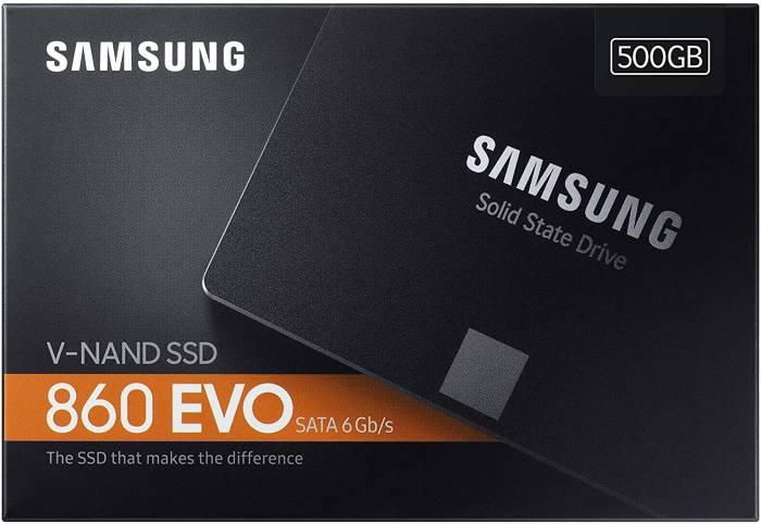 SAMSUNG 860 QVO 2.5in SATA III 500GB Internal SSD