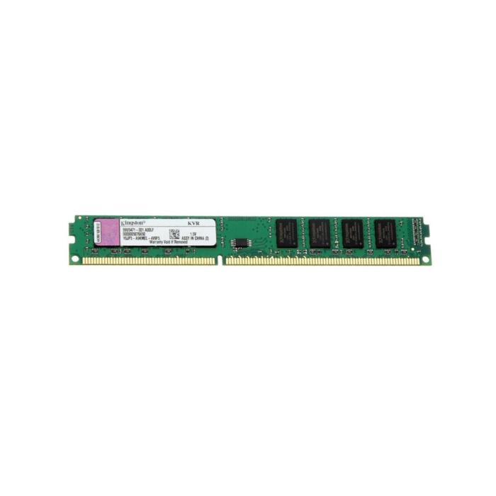 Kingston 4GB Single DDR3 Memory Module - 1600mhz