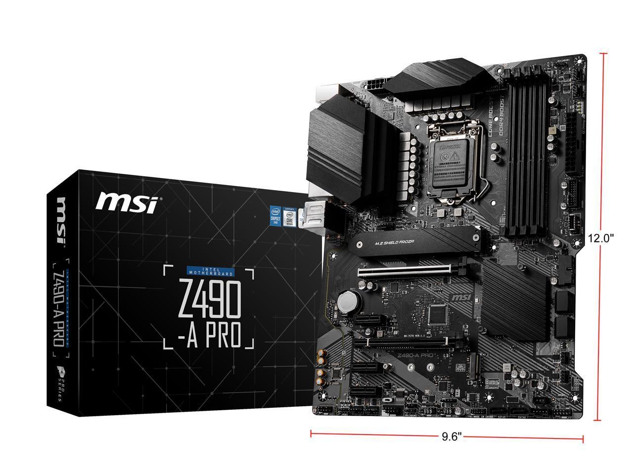 MSI Z490-A PRO LGA 1200