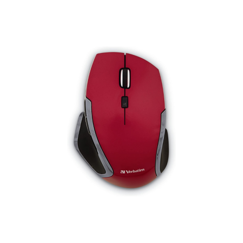 Red Verbatim Deluxe Mouse