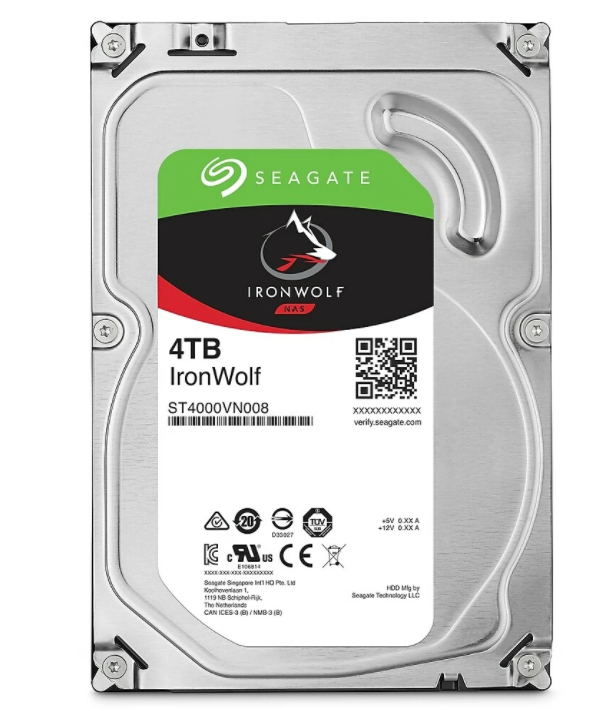Seagate IronWolf 4 TB Hard Drive