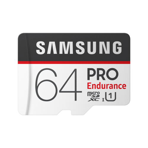 SAMSUNG 64GB PRO Endurance memory card adapter