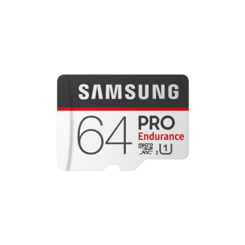SAMSUNG 64GB PRO Endurance memory card adapter